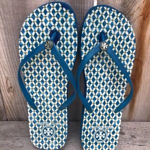 Tory Burch women's printed flip-flops